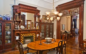 272 Berekley Place dining room