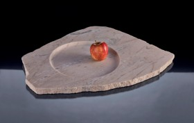 a marble bowl by Earnest Studio