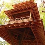 Long Lake Treehouse designed by Luderowski Architect