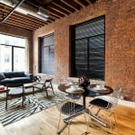 139 North 10th Street, Printhouse Lofts, living room