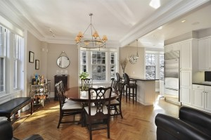 375 West End Avenue, 2AB dining room