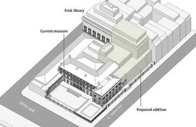 Frick collection rendering