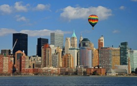 Hot Air Balloon over NYC