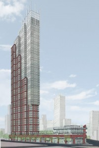 388 Schermerhorn Street, Dattner Architects, Brooklyn, skyscraper, Downtown Brooklyn
