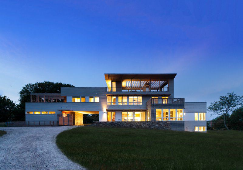 Fisher's Island House designed by Resolution 4 Architecture