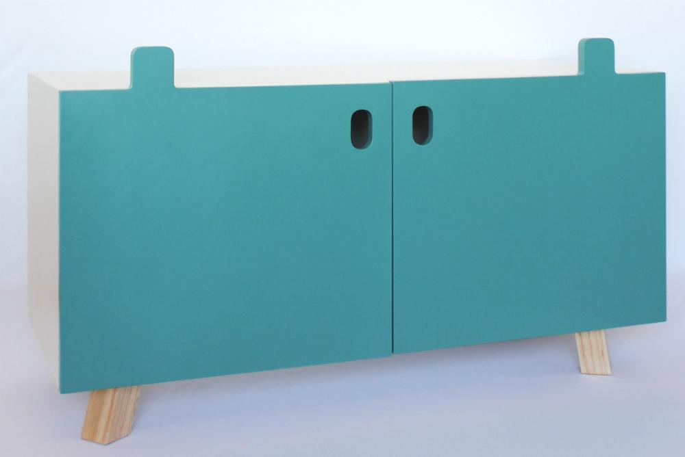 Mostros dresser designed by Oscar Nunez