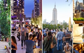 NYC ROOFTOP BARS