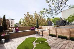 9 Commerce St exterior roof deck
