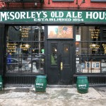 A truly historic bar, McSorley's has been in operation for well over a century.