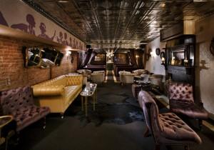 Beautiful interior design in The Raines Law Room.