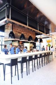 Tartinery kiosk at Hudson Eats inside Brookfield Place