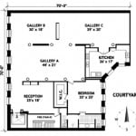 84 Mercer Street, 4E floorplan