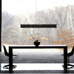 Diadema light, part of Linear Suspension series designed by David D'Imperio