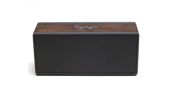 grain audio wireless wood speaker