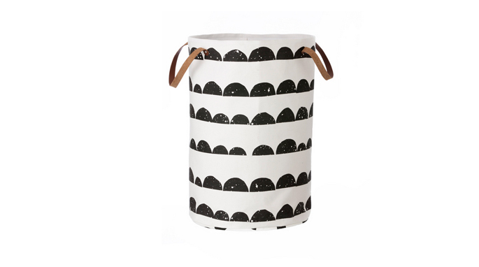 half moon laundry basket