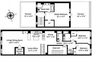 47 Murray Street, PH floorplan 2