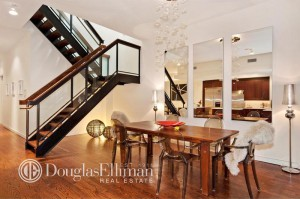 47 Murray Street, PH dining room and stairs
