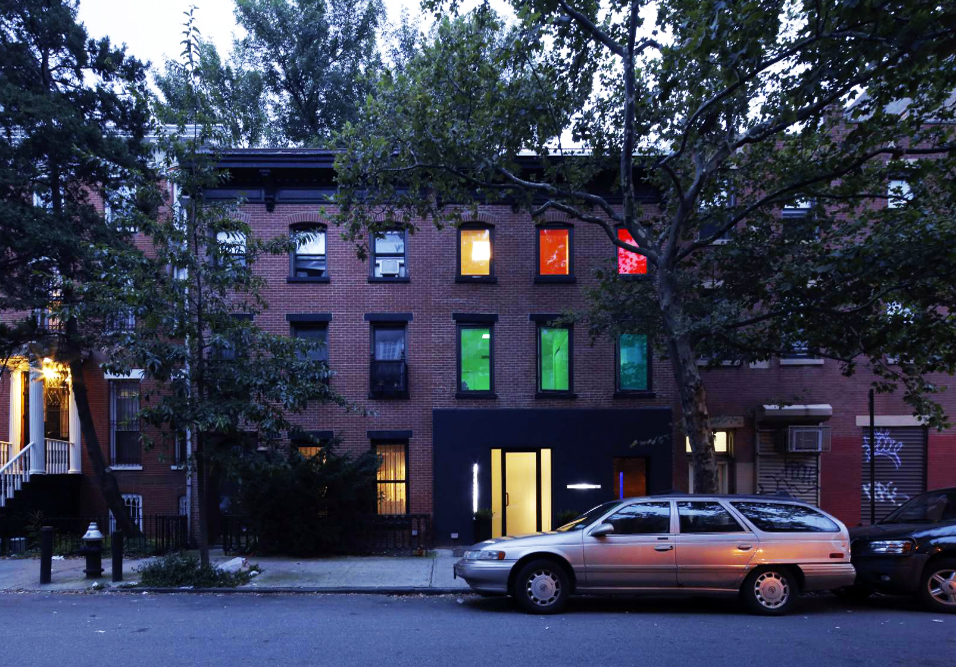Find Out Why This Fort Greene Building Is All Lit Up 6sqft