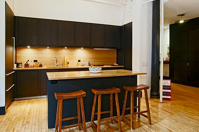 565 Broadway, 5W, kitchen
