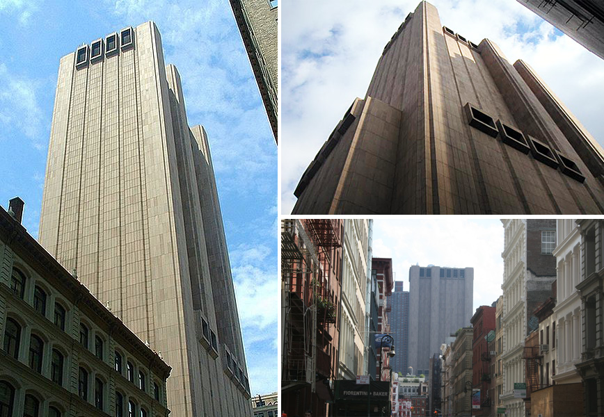 AT&T Long Lines building, brutalist architecture nyc