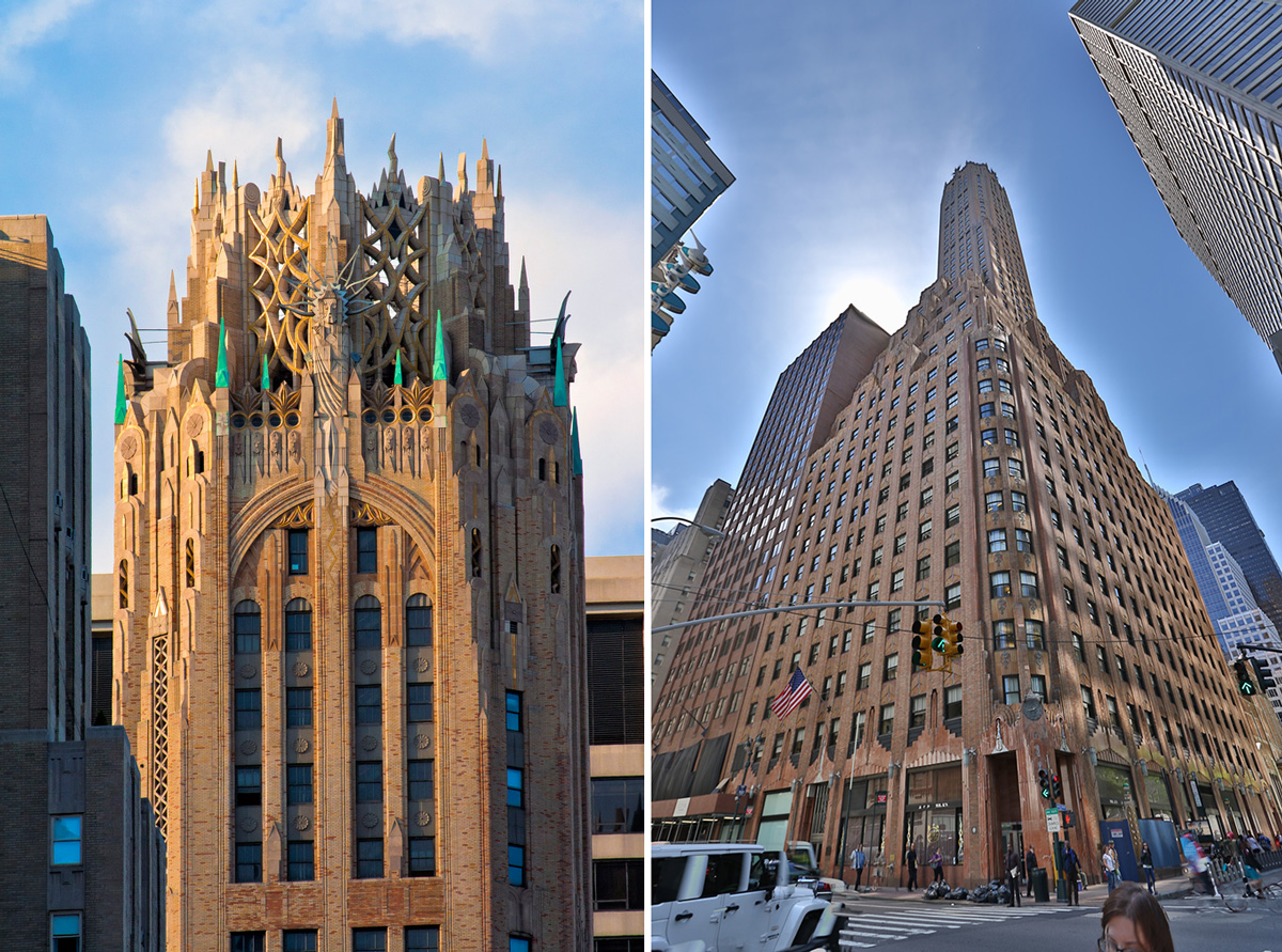 570l exington avenue, general electric building, art deco buildings, historic nyc buildings