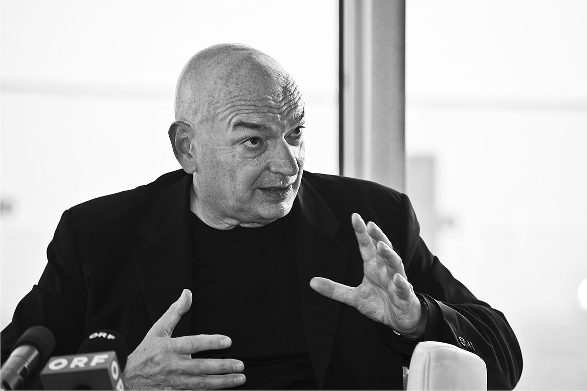 jean nouvel says he has 39 no favorite color 39 at event honoring 53w53 6sqft. Black Bedroom Furniture Sets. Home Design Ideas