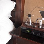 Joshua Renouf, Hybrid machine, Coffee Brewer and Alarm Clock, The Bariseur, British design,