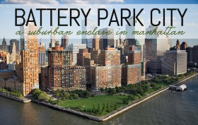 Battery Park City, Battery Park City ariel view, Battery Park City