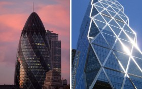 Norman Foster, London Gherkin, Hearst Tower, starchitecture