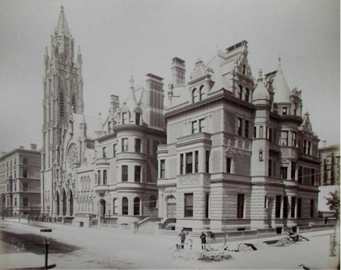680-684 Fifth Avenue Vanderbilt Townhouses-NYC