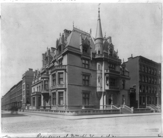 William K Vanderbilt House-Ava Vanderbilt-Fifth Avenue-NYC