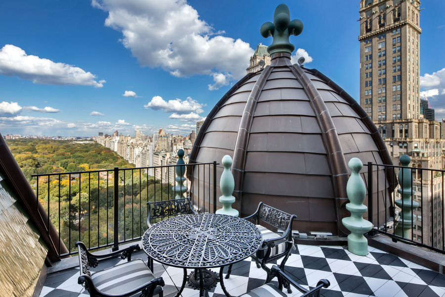 The Plaza, Plaza penthouse, Tommy Hilfiger's Plaza penthouse, central park views