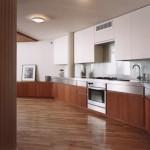 Specht Harpman, Eiche Residence, East Village modern design, interior design with straight lines, modern kitchens,