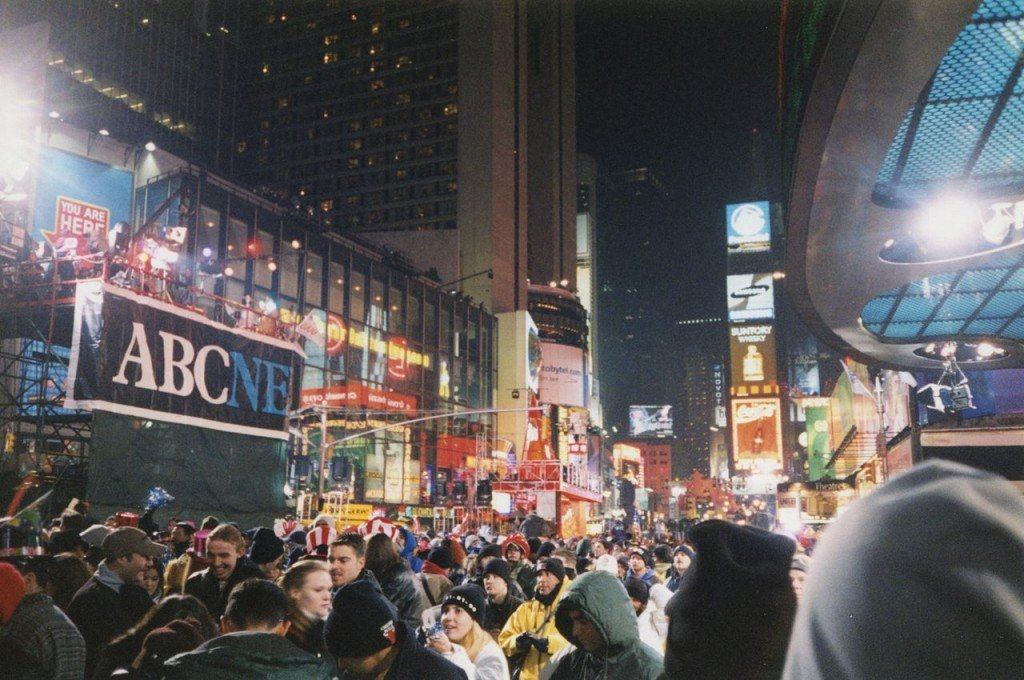 New Year's Eve 1999, Times Square.