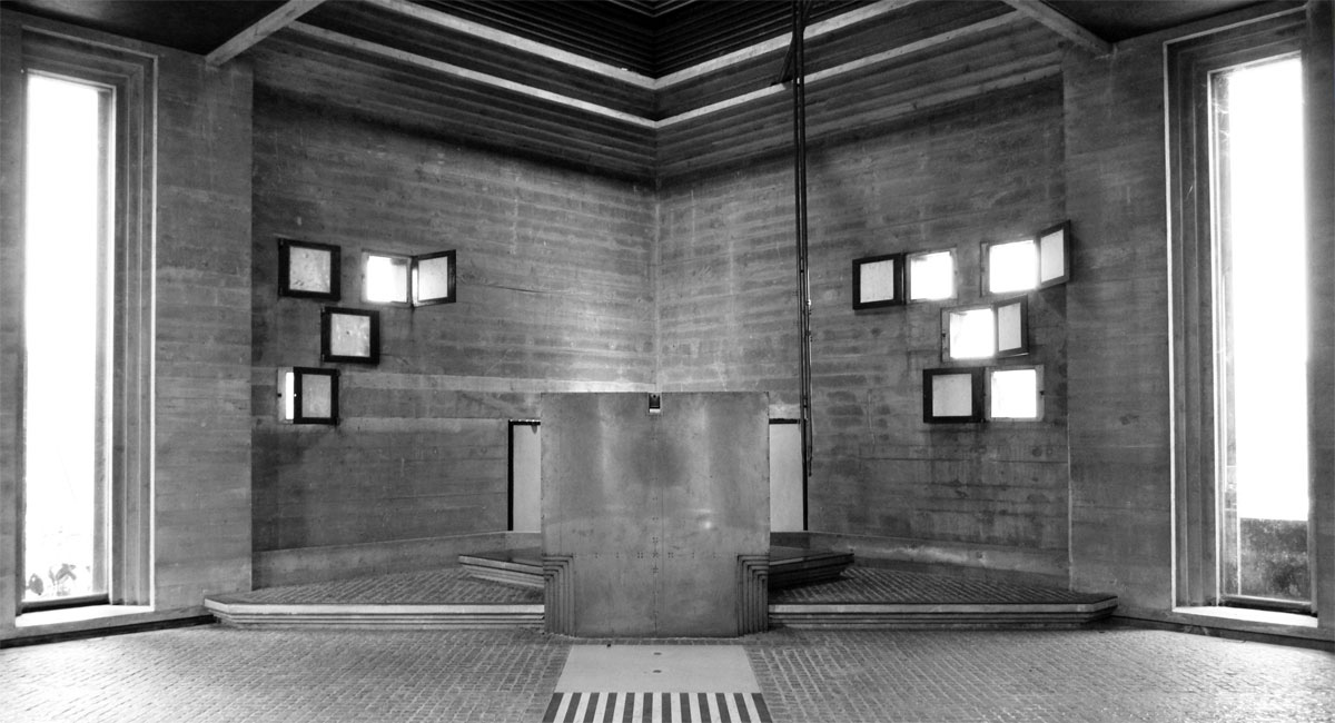 Tomba Brion,  Carlo Scarpa