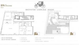 374 Broome Street #PHA, Fredrik Eklund, The Brewster Carriage House