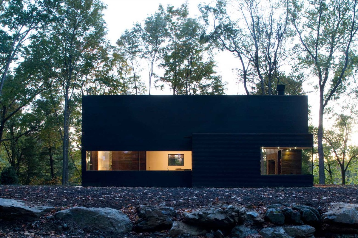 Cooper Joseph Studio, Writer's Studio, Ghent New York, writer's retreat, modern upstate cabins