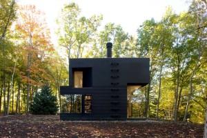 Cooper Joseph Studio, Writer's Studio, Ghent New York, writer's retreat, modern upstate cabins