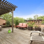 Clinton Hill real estate, modern carriage house, 407 Vanderbilt Avenue, roof deck