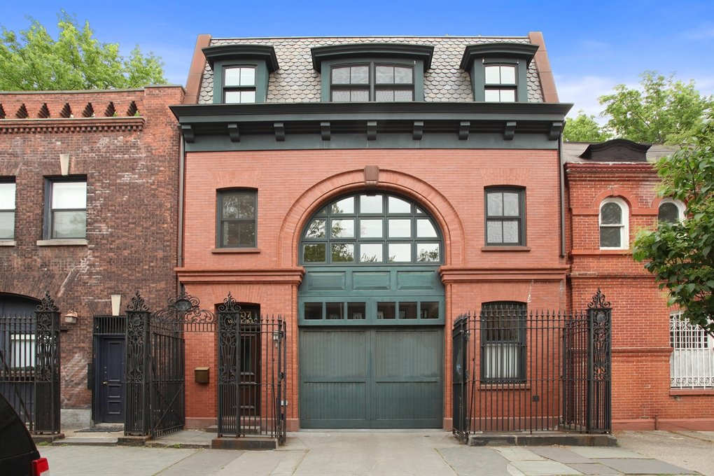 Hold Your Horses, This Clinton Hill Carriage House Is Younger Than You Think