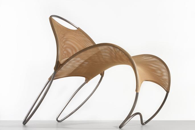 William pedersen of kpf strives to design the perfect chair in loop de loop 6sqft - Celebrity furniture designers ...