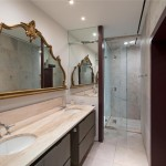 Trump Parc, 106 Central Park South, Central Park real estate, marble bathroom