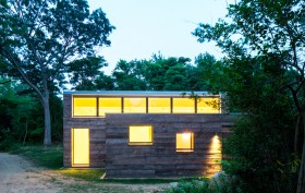Ryall Porter Sheridan, Passive House, Orient Artist Studio, Long Island, energy-efficient, triple glazing windows