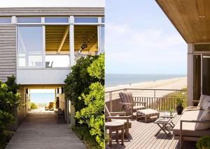 Stelle Architects, Surfside Residence, Bridgehampton, marine breeze, natural ventilation, geothermal heating, photovoltaic electric panels