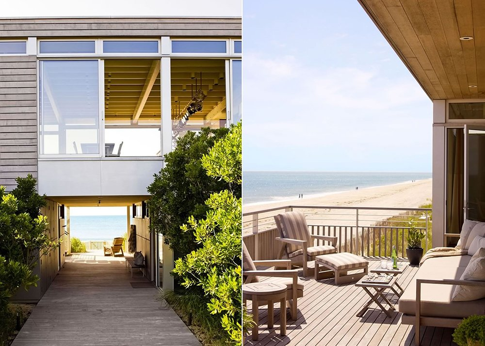 Stelle Architects, Surfside Residence, Bridgehampton, marine breeze, natural ventilation, geothermal heating, photovoltaic electric panels