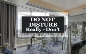 Do not disturb, NYC condo hotels, hotel residences