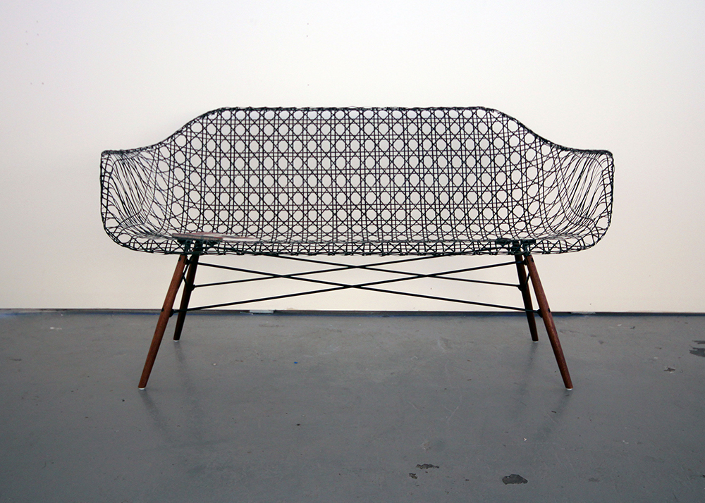 Matthew Strong Reinvents The Iconic Eames Sofa Using Lightweight Carbon  Fiber