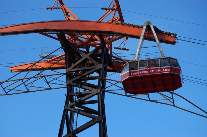 Old Roosevelt Island tramway