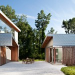 Aluminum-Clad houses, contemporary country homes, Grzywinski + Pons, Dutchess House No. 1, Millerton New York homes, sustainable architecture
