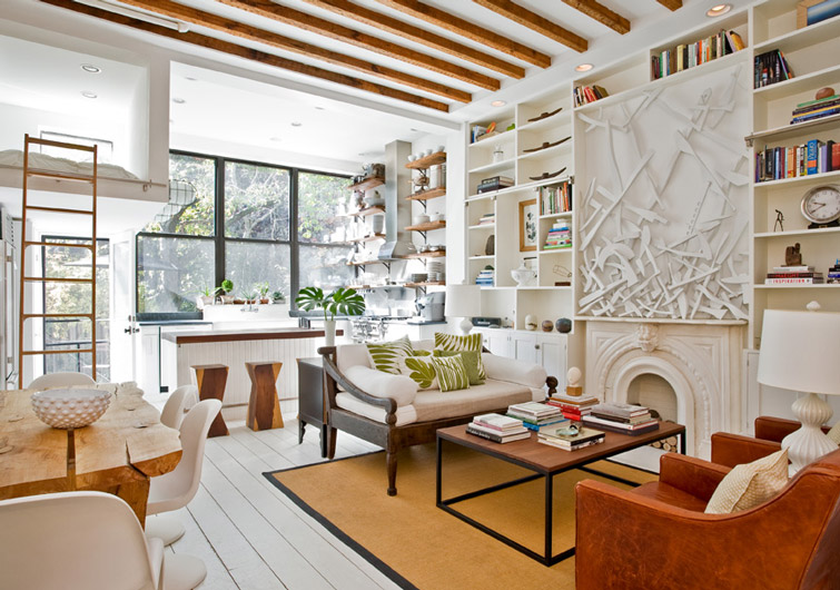 Sunny Park Slope Townhouse Gets an Artsy Makeover from The ...